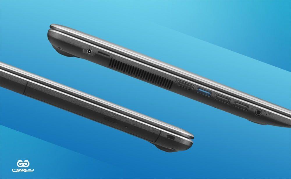 لپ تاپ 15.6 اینچی ایسوس مدل X543MA به همراه کیف ایسوس