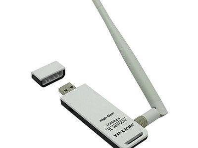 کارت شبکه USB بی سیم تیپی-لینک مدلTL-WN722N