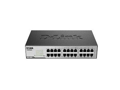 سوییچ 24 پورت غیر مدیریتی و دسکتاپ دی-لینک مدل DES-1024D