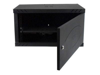 رک شبکه آلترو عمق 40 سانتیمتر و ارتفاع 6 یونیت درب فلزی به همراه پاور ماژول مدل AS640D123