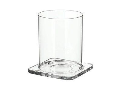 بشقاب شمع مربع ایکیا مدل GLASIG