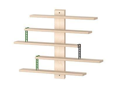 شلف لگو چوبی ایکیا مدل LUSTIGT