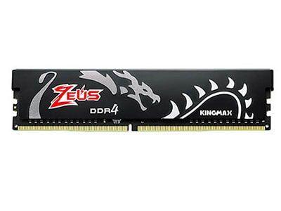 رم کامپیوتر 8 گیگابایتی کینگمکس مدل Zeus Dragon LONG DIMM DDR4 3000MHz
