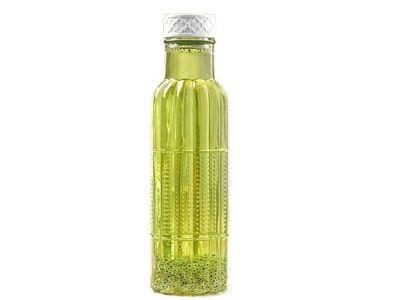 بطری آب ساحل شیشه ای لیمون کد 1934