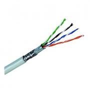 کابل شبکه 305 متری Cat6 SFTP دارای شیلد و فویل دی لینک مدل NCB-C6SFGRR-305
