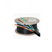 کابل شبکه 305 متری CAT5E FTP Outdoor دارای فویل دی لینک مدل NCB-5EFOBLR-305