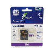 کارت حافظه microSDHC ویکو من مدل Extre 533X کلاس 10 استاندارد UHS-I U1 سرعت 80MBps ظرفیت  32  گیگابایت به همراه آداپتور SD