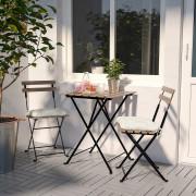 میز و صندلی ایکیا مدل TARNO