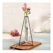 خزید گلدان رومیزی فلزی ENZO طرح مثلث
