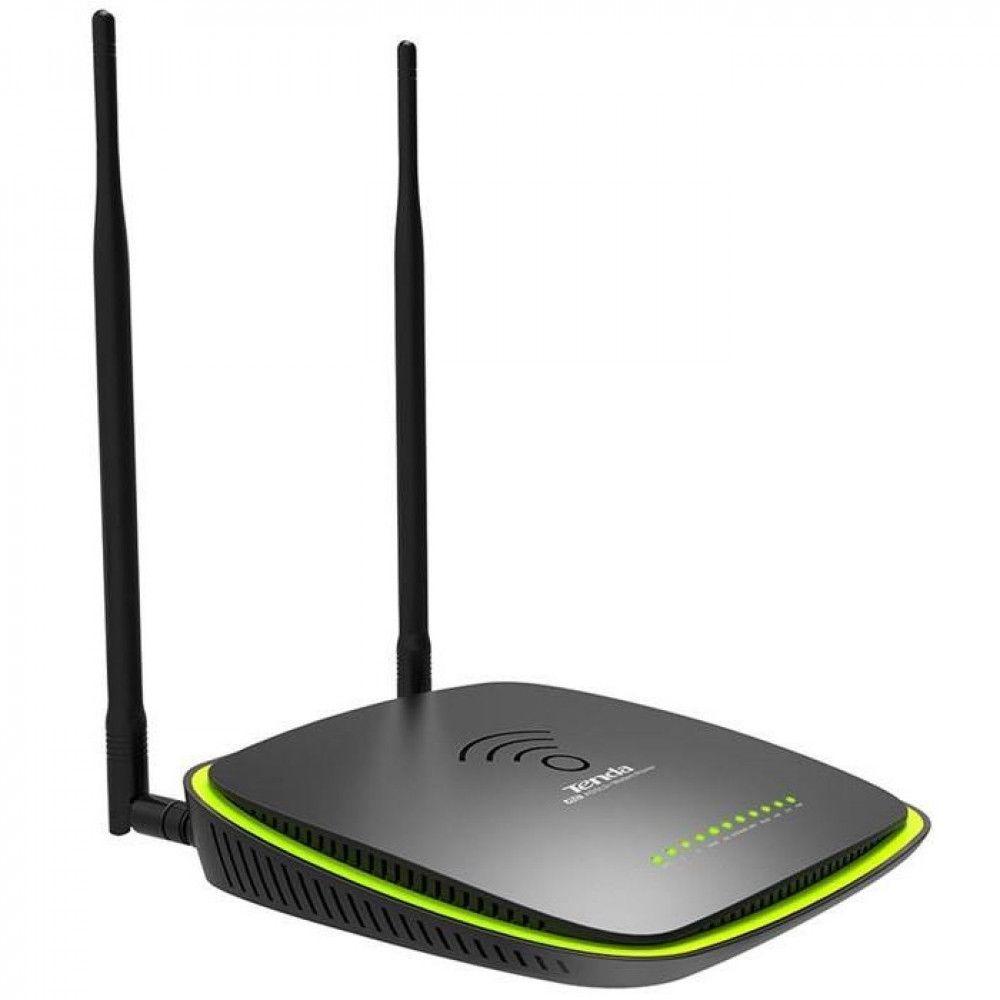 مودم روتر دو بانده بیسیم تندا ADSL2 Plus مدل D1201