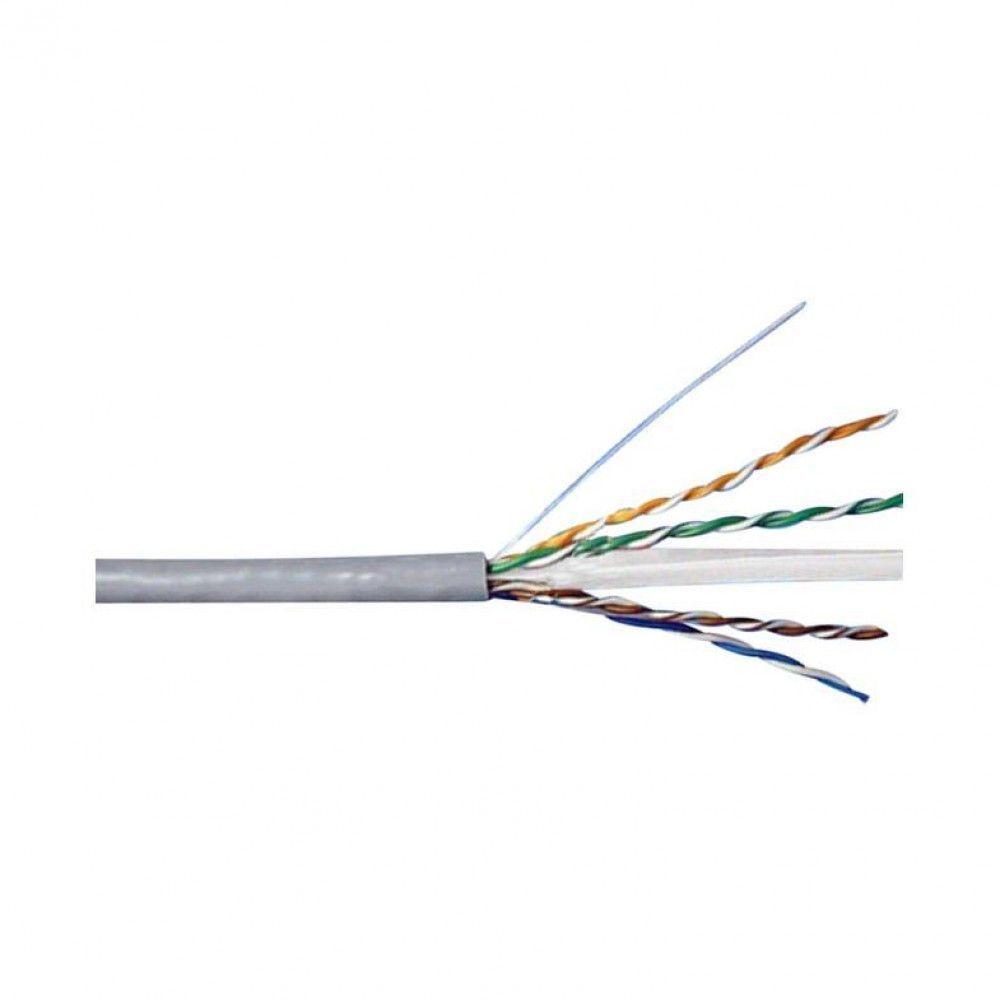کابل شبکه 100 متری CAT6 UTP بدون شیلد دی-لینک مدل NCB-C6UGRYR-100