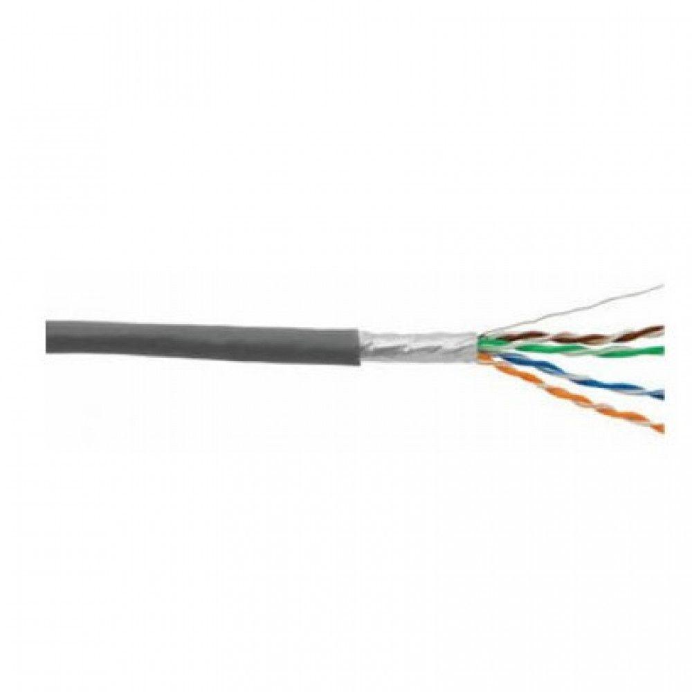کابل شبکه 500 متری CAT6 FTP دارای فویل دی-لینک مدل NCB-C6SGRYR-500-24
