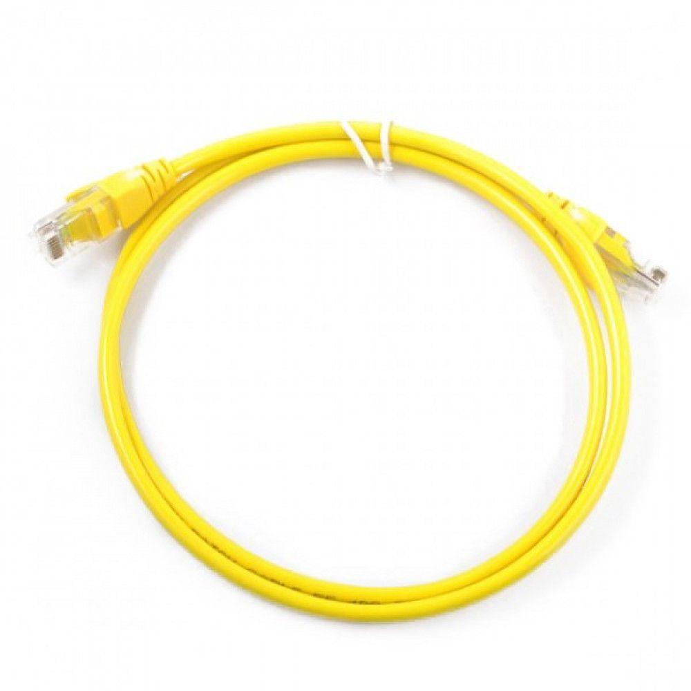 پچ کورد نیم متری دی لینک D-Link NCB-C6UYELR1-05 UTP CAT6 Patch Cord