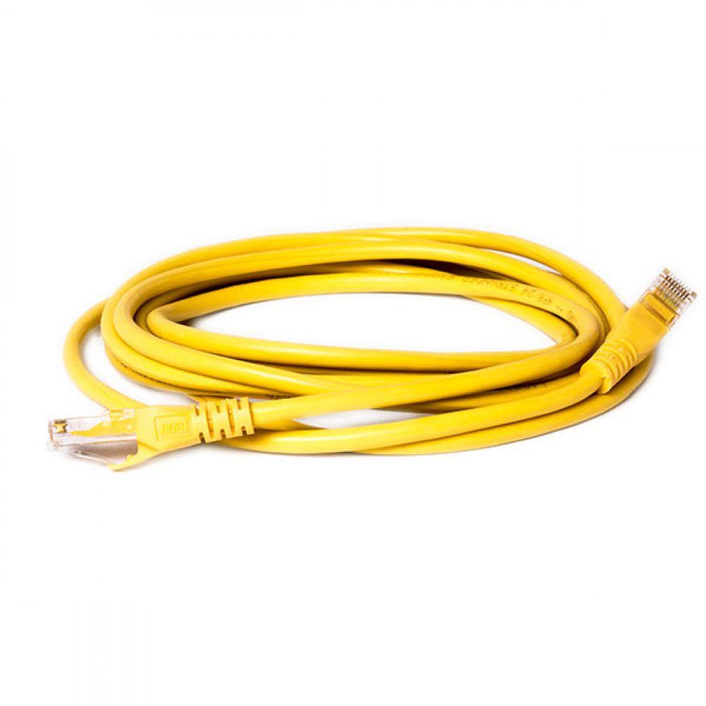 پچ کورد 3 متری دی لینک D-Link NCB-C6UYELR1-3 UTP CAT6 Patch Cord