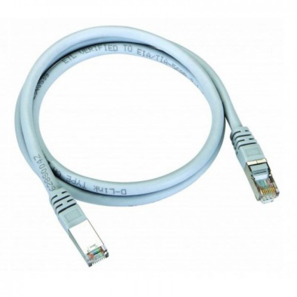 پچ کورد 1 متری دی لینک D-Link NCB-C6SGRYR1-1 STP CAT6 Patch Cord