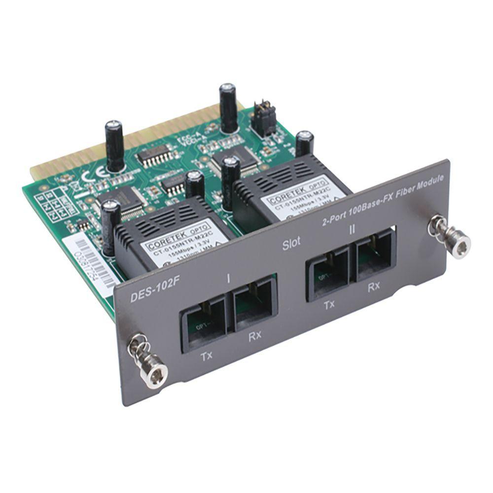 مبدل فیبر نوری دی لینک DES-102F FX Fiber