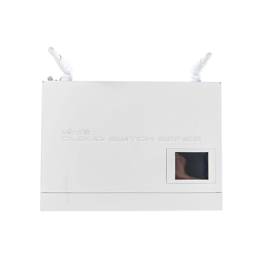 سوییچ 8 پورت،هوشمند میکروتیک مدل CRS109-8G-1S-2HnD-IN