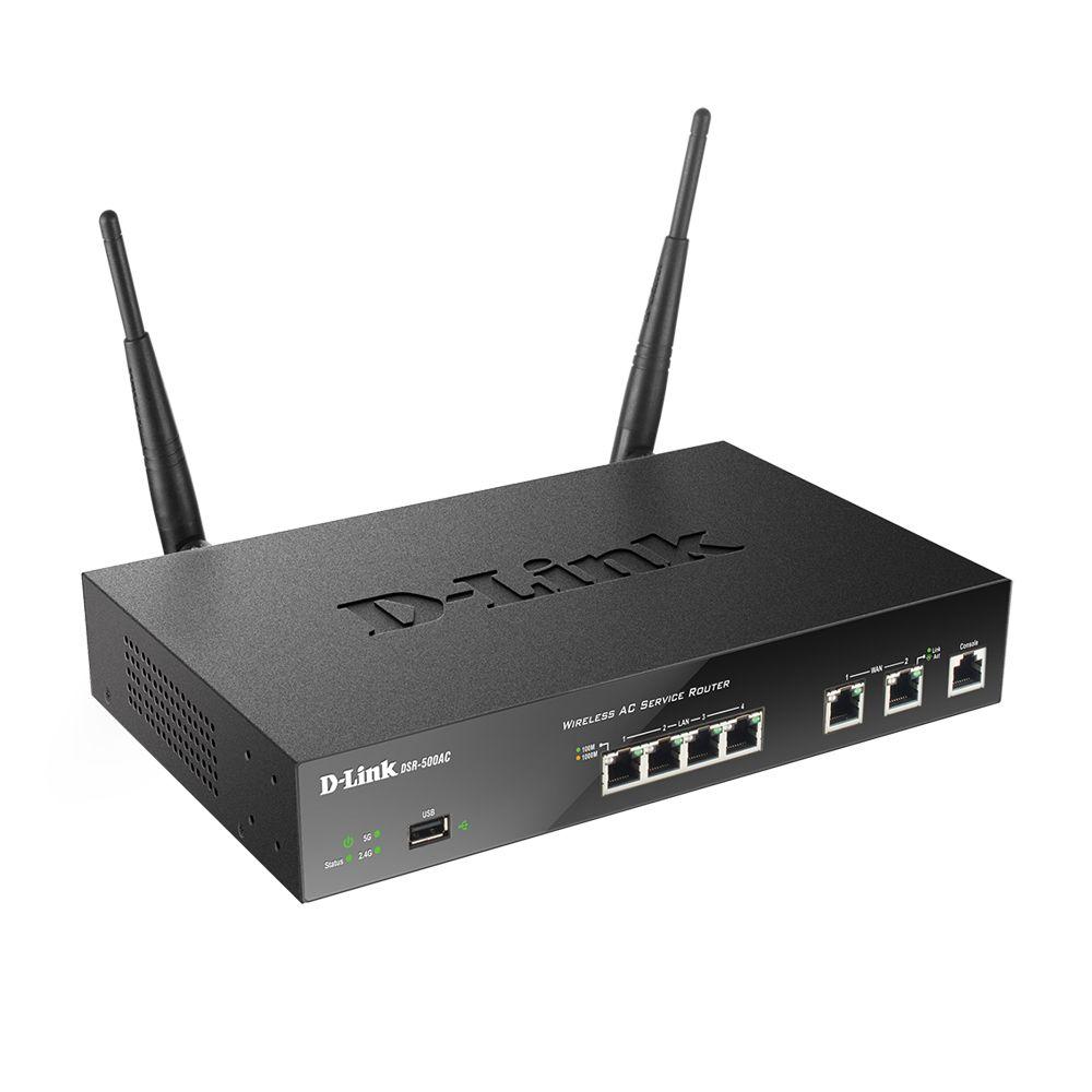 روتر VPN بی سیم دی-لینک مدل DSR-500AC