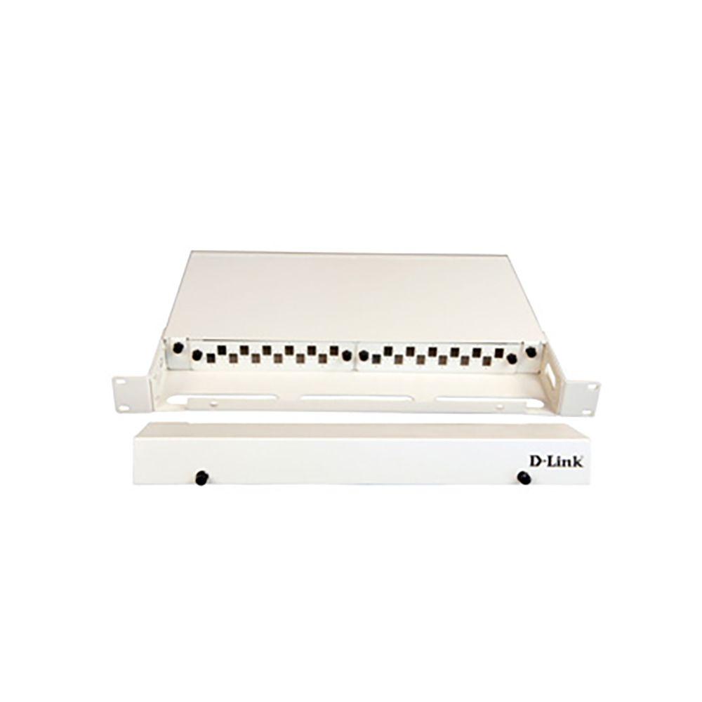پچ پنل ثابت فیبر نوری دی لینک مدل NLU-FXXUXXR-24