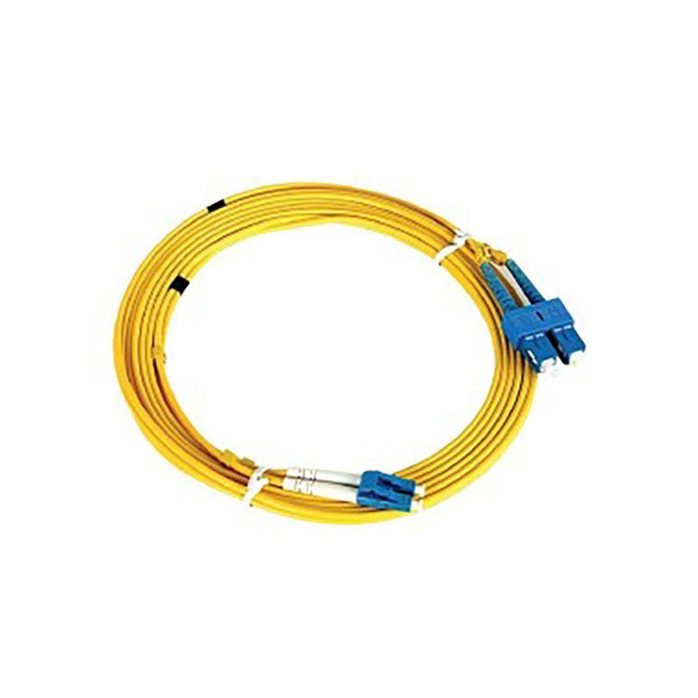 پچ کورد فیبر نوری دی لینک مدل Single mode NCB-FS09D-LCLC-3