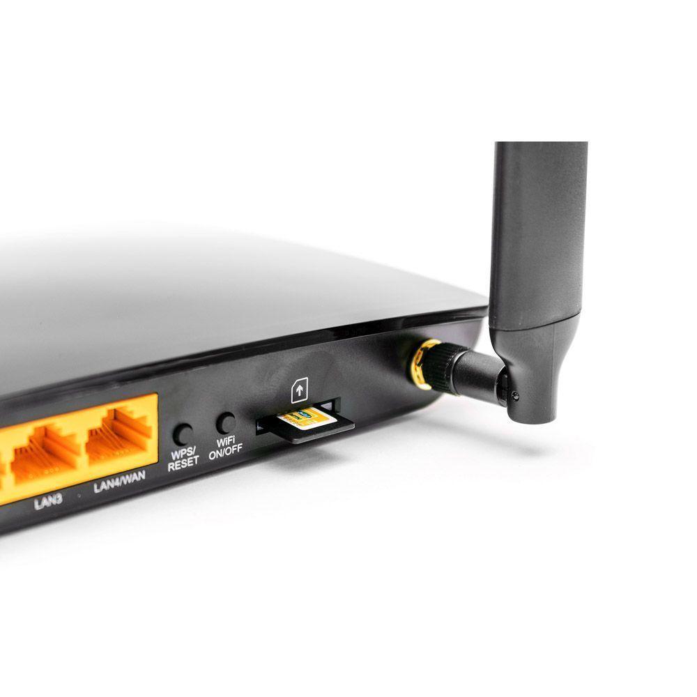 مودم روتر بی سیم 4G LTE تی پی-لینک مدل Archer MR200/AC750_Ver-3