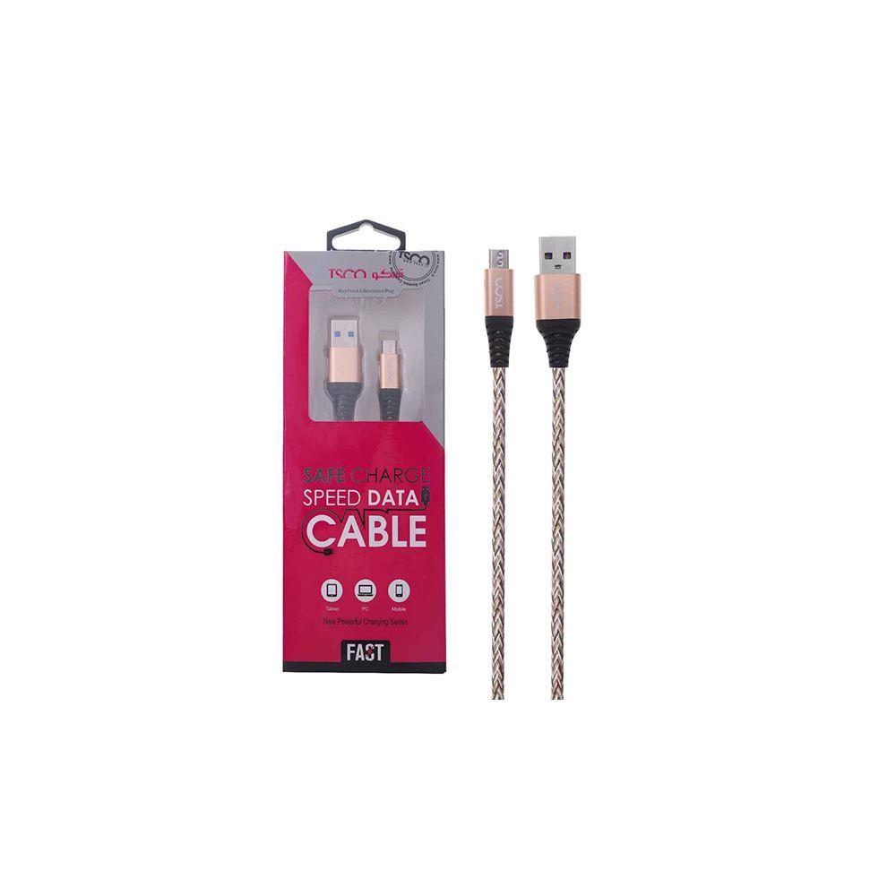 کابل شارژ و دیتا اندروید 1 متری  USB تسکو مدل TC 98