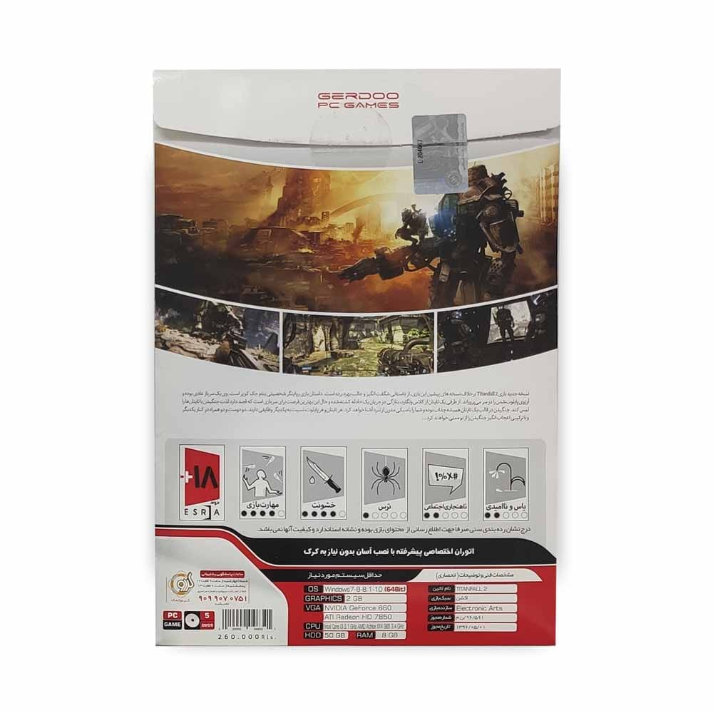 بازی کامپیوتر TITAN FALL 2