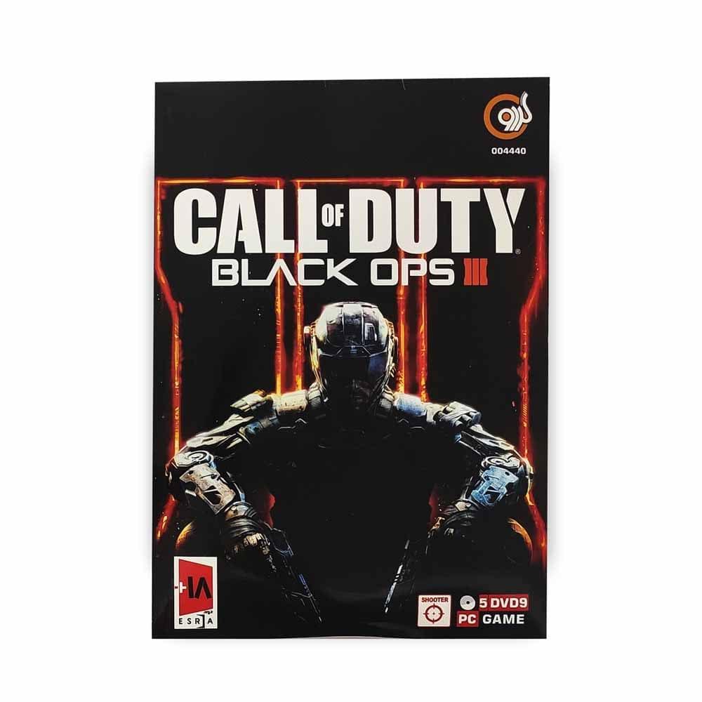 بازی کامپیوتر CALL OF DUTY : BLACK OPS 3