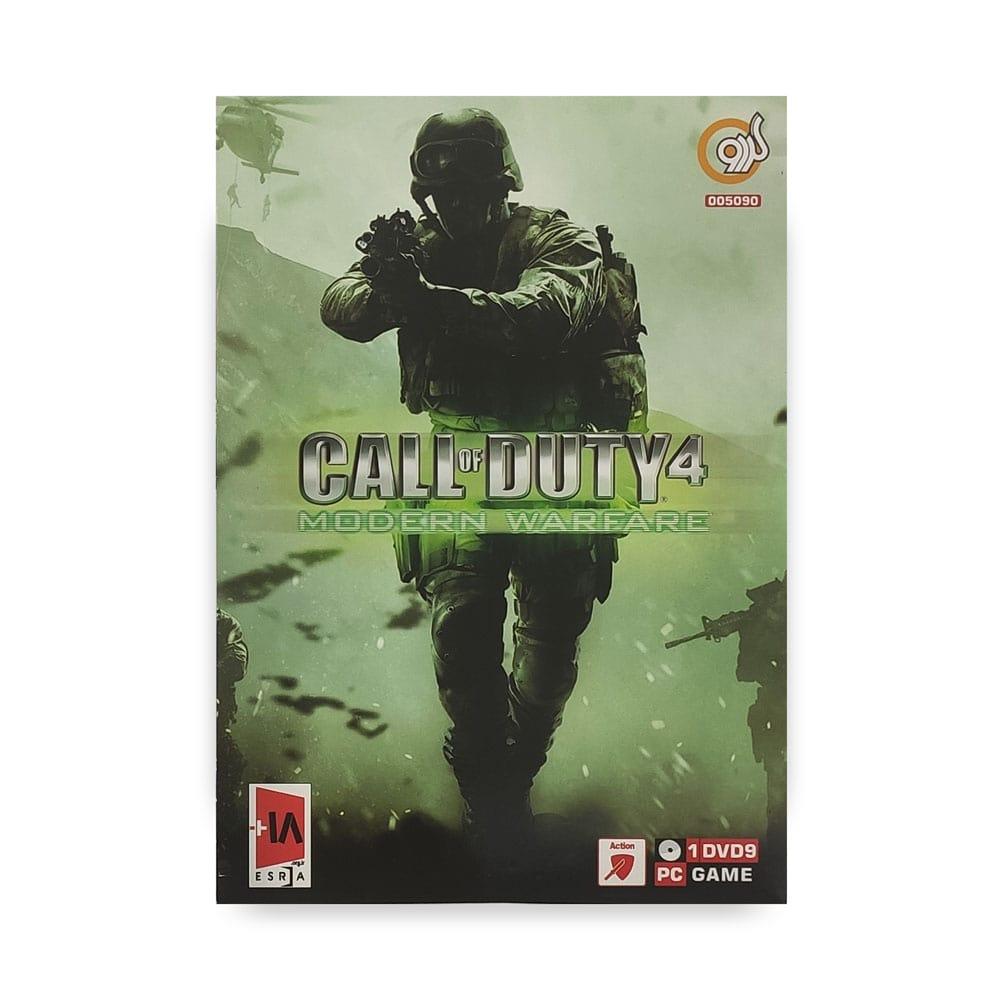 بازی کامپیوتر CALL OF DUTY 4 : MODERN WARFARE