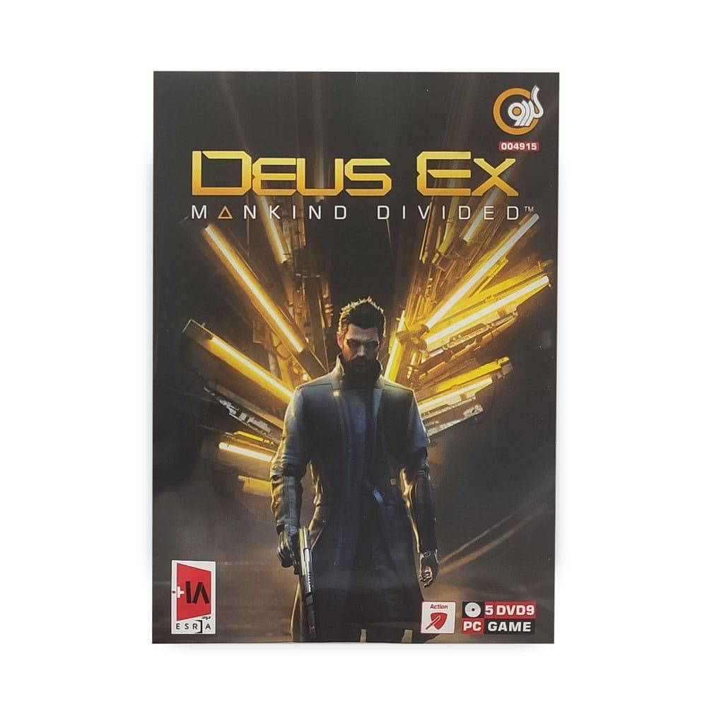 بازی کامپیوتر DEUS EX : MANKIND DIVIDED