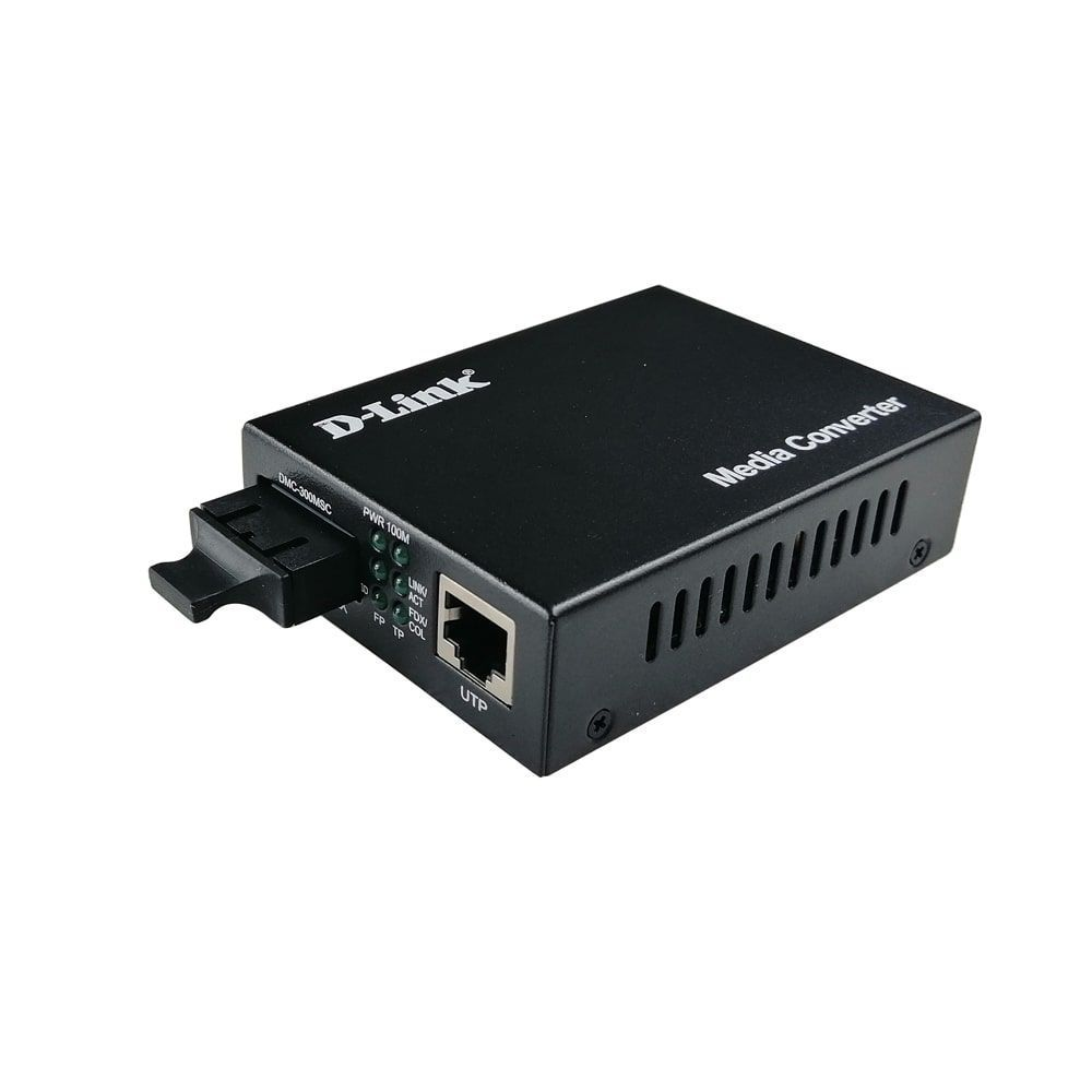 مبدل فیبر نوری به اترنت دی-لینک مدل DMC-300MSC