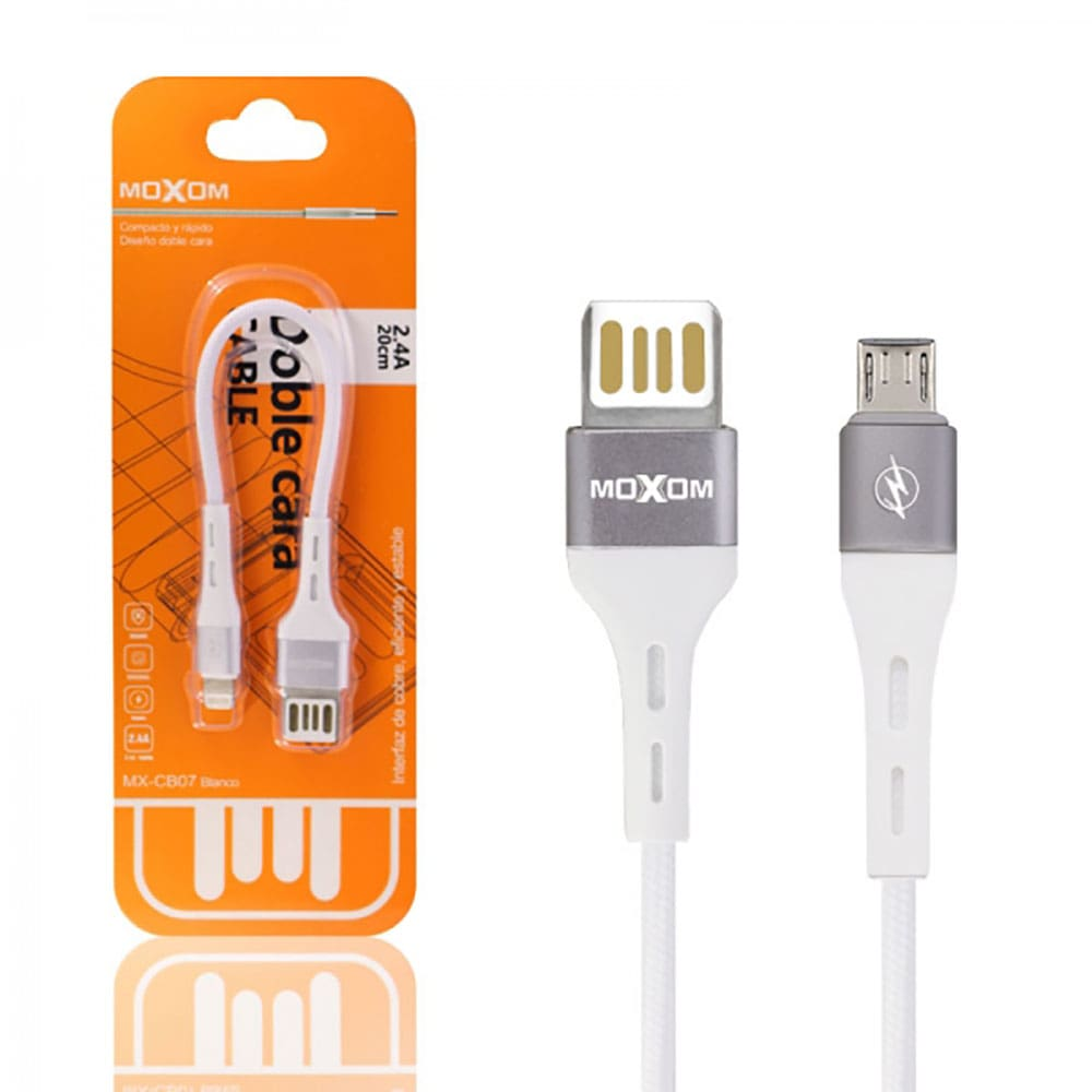 کابل پاور بانک Micro USB موکسوم مدل MX-CB07