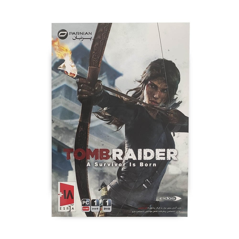 بازی کامپیوتر TOMB RAIDER : A SURVIVOR IS BORN