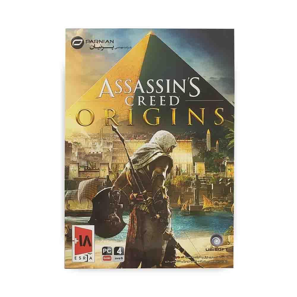 بازی کامپیوتر ASSASSINS CREED : ORIGINS