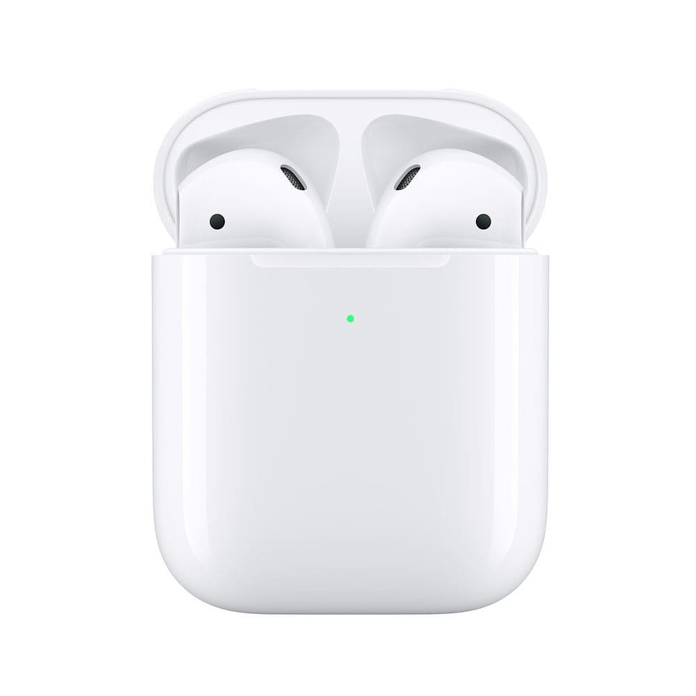 هندزفری بلوتوث اپل مدل AirPods 2 با کیس شارژ بی سیم