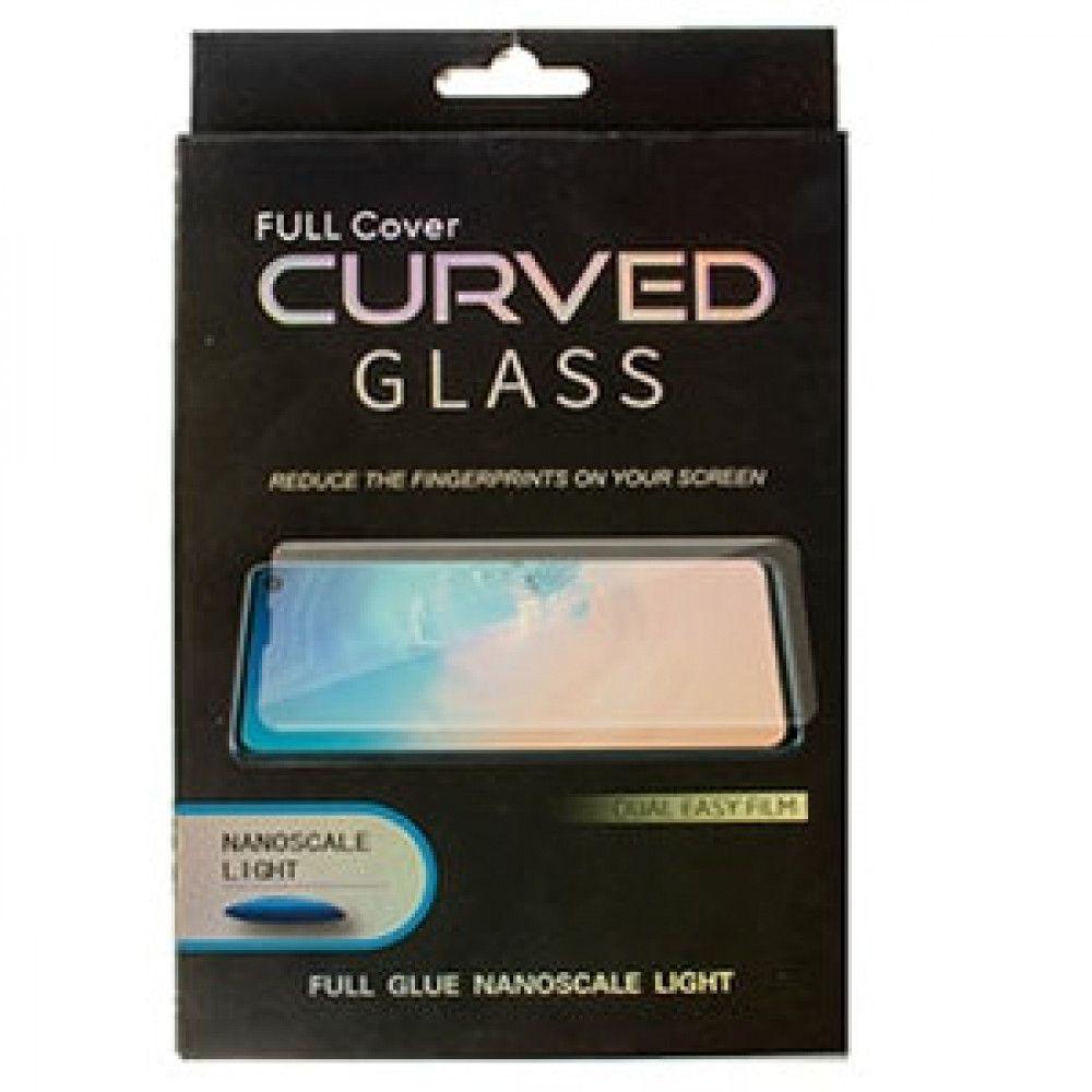 گلس UV تمام صفحه سامسونگ S9 به همراه لامپ و چسب