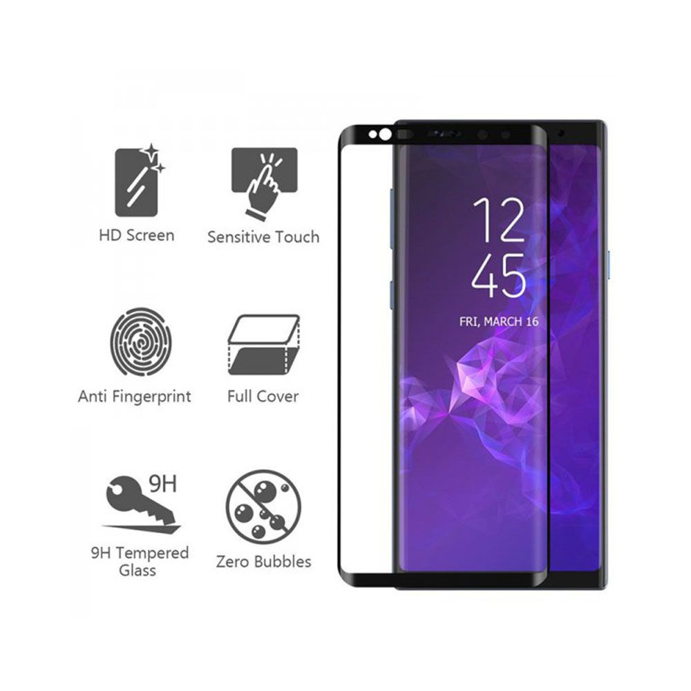گلس تمام صفحه گوشی موبایل سامسونگ S9