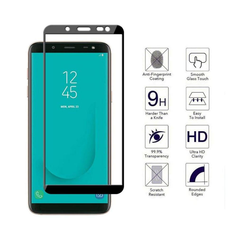 گلس تمام صفحه گوشی موبایل سامسونگ J8