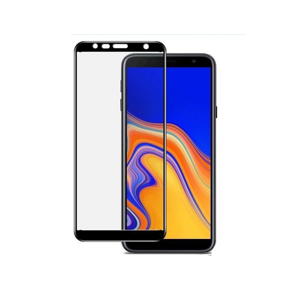 گلس تمام صفحه گوشی موبایل سامسونگ J4 Plus