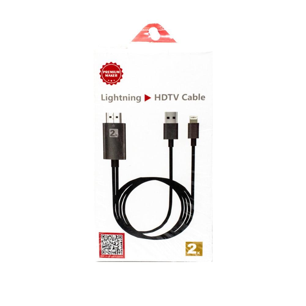مبدل Lightning به HDTV سیمی مدل 2K