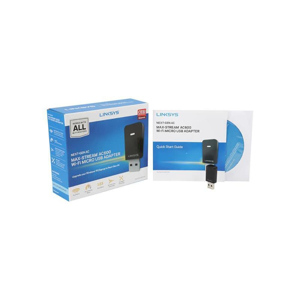 کارت شبکه USB لینک سیس مدل WUSB6100M-EU
