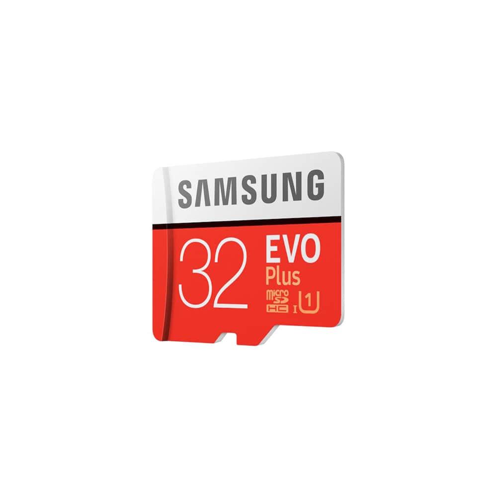 کارت حافظه microSDHC سامسونگ Evo Plus کلاس 10 استاندارد UHS-I U1  سرعت 95MBps همراه با آداپتور SD ظرفیت 32 گیگابایت