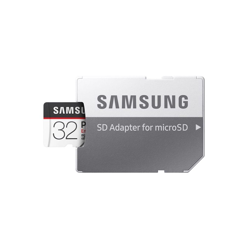 کارت حافظه microSDHC سامسونگ مدل  Pro Endurance کلاس 10 استاندارد UHS-I  سرعت 100MBps همراه با آداپتور SD ظرفیت 32 گیگابایت