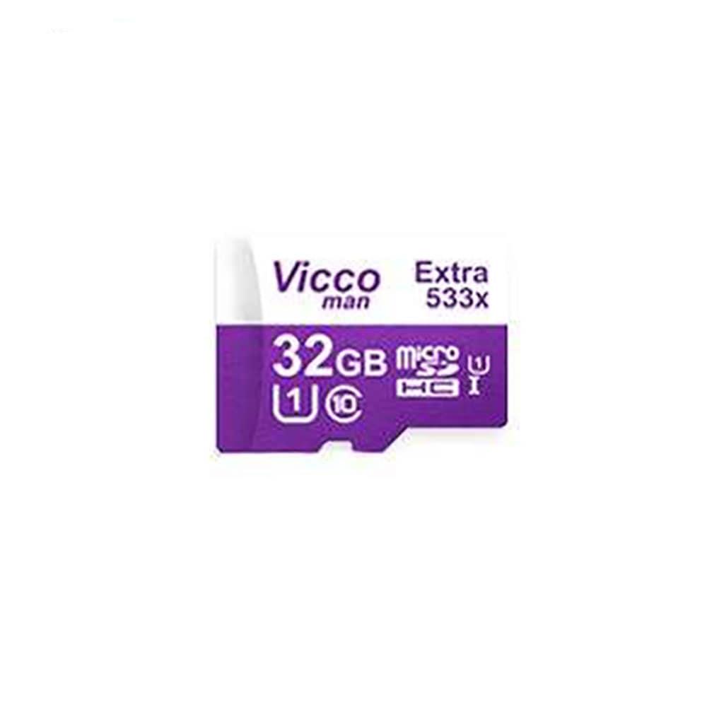 کارت حافظه microSDHC ویکو من مدل 533X کلاس 10 استاندارد UHS-I U1 سرعت 80MBps ظرفیت 32 گیگابایت
