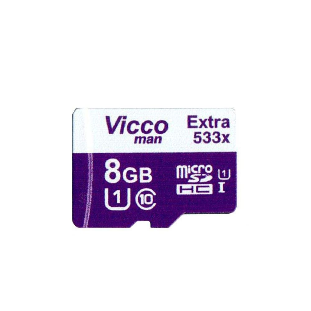 کارت حافظه microSDHC ویکو من مدل Extre 533X کلاس 10 استاندارد UHS-I U1 سرعت 80MBps ظرفیت 8 گیگابایت