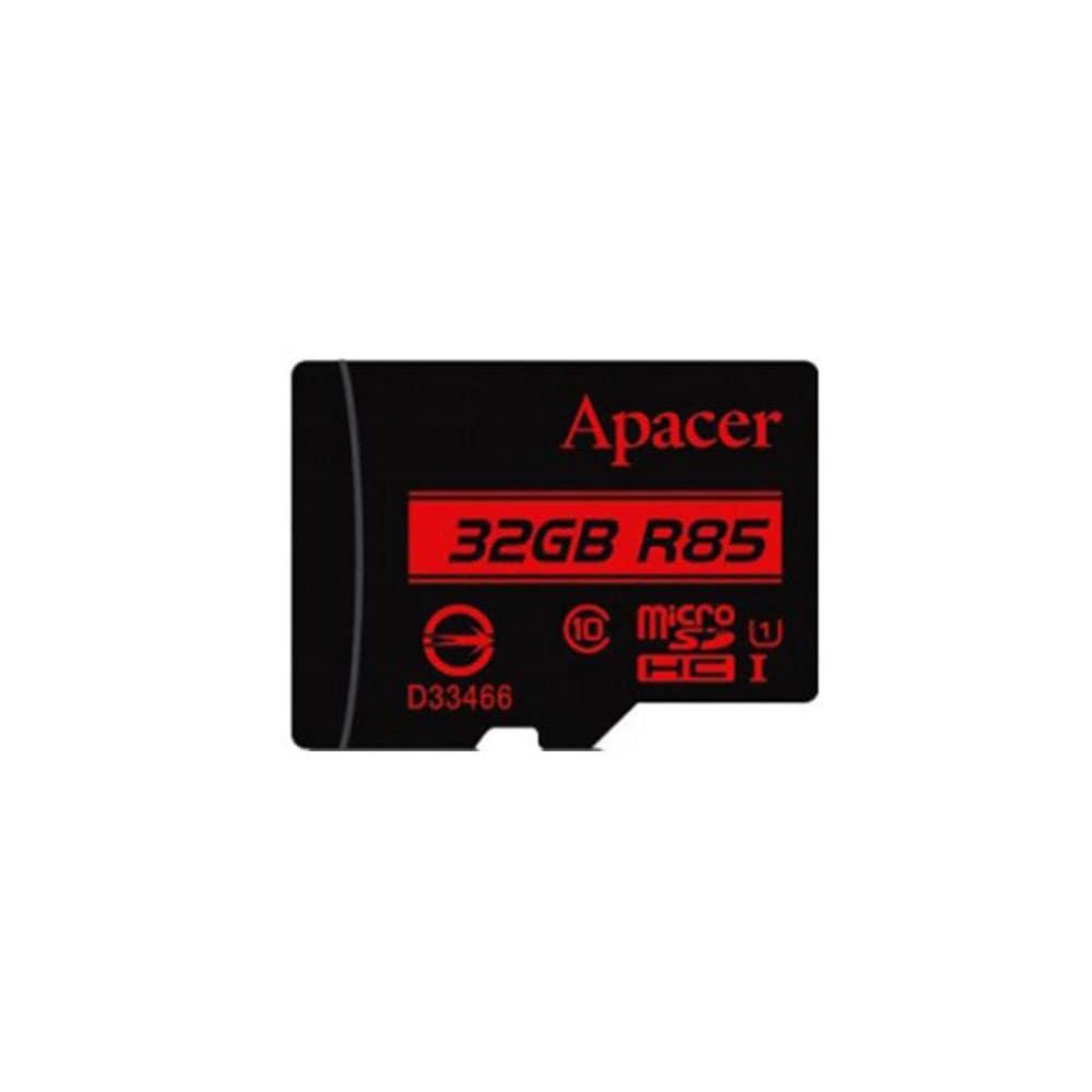کارت حافظه microSDHC اپیسر مدل AP32G کلاس 10 استاندارد UHS-I U1 سرعت 85MBps ظرفیت 32 گیگابایت