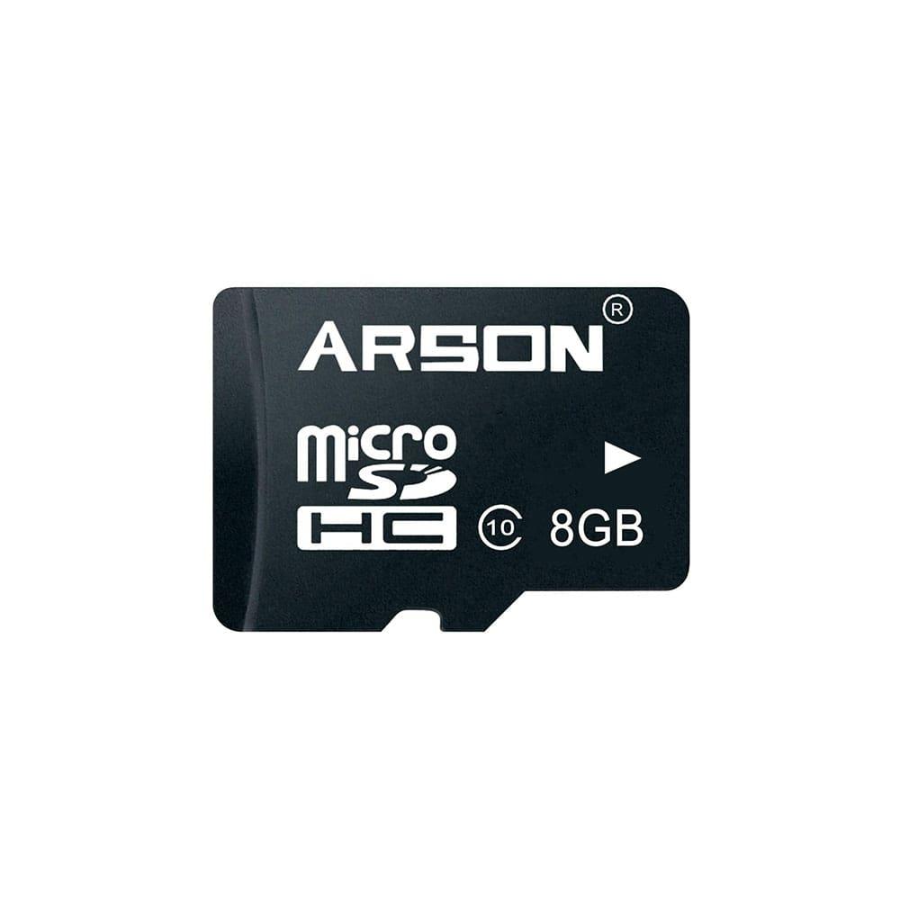 کارت حافظه microSDHC آرسون مدل AM-2108 کلاس 10 استاندارد U1 سرعت 80MBps ظرفیت 8 گیگابایت