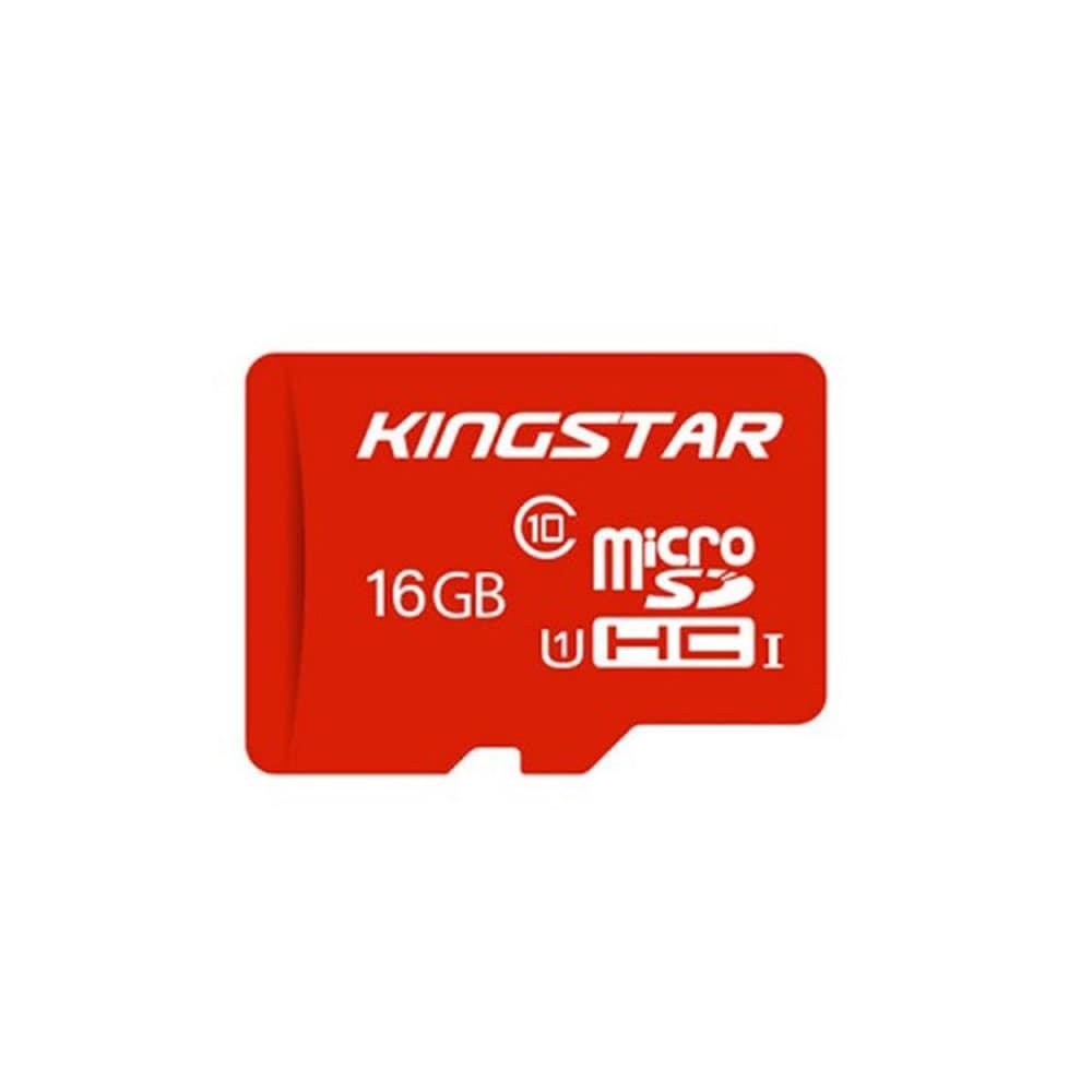 کارت حافظه microSDHC کینگ استار مدل 580X کلاس 10 استاندارد UHS-I U1 سرعت 85MBps ظرفیت 16 گیگابایت همراه با آداپتور SD