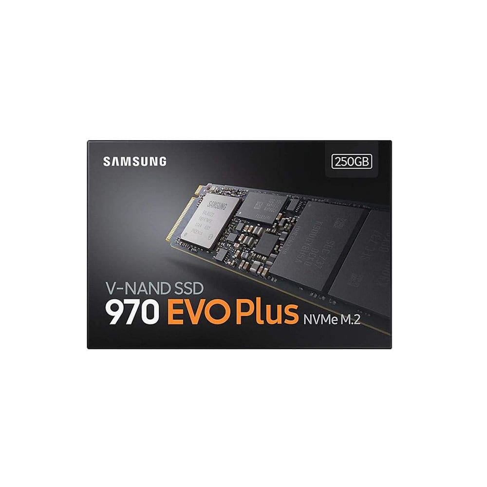 اس اس دی اینترنال سامسونگ مدل 970EVO PLUS ظرفیت 250 گیگابایت