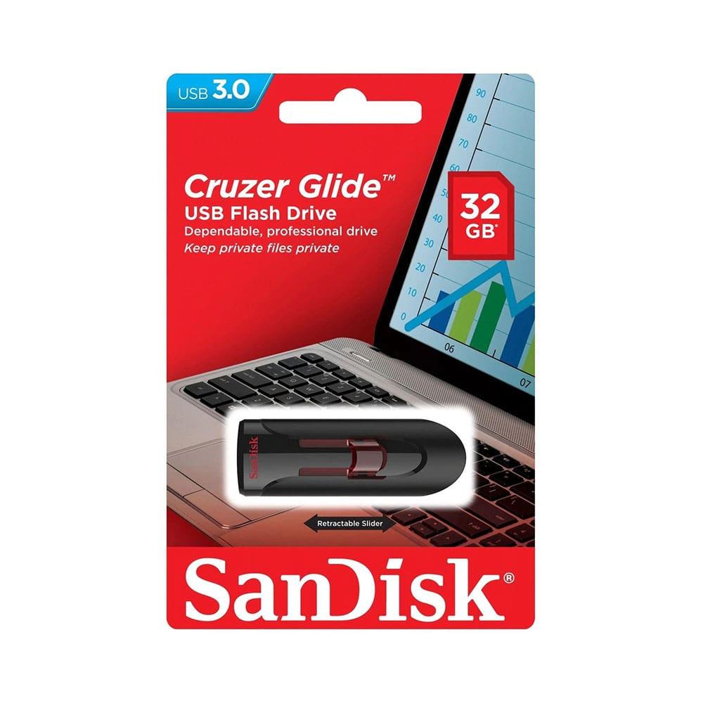 فلش مموری CRUZER GLIDE 32GB